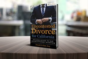 "FREE  Amazon eBook - ""Uncontested Divorce for California"" Don Glass, Esq"