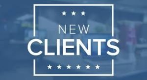 New Clients Start Here for Step 1